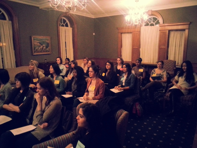 A snapshot from our briefing meeting #UTWomenInHouse